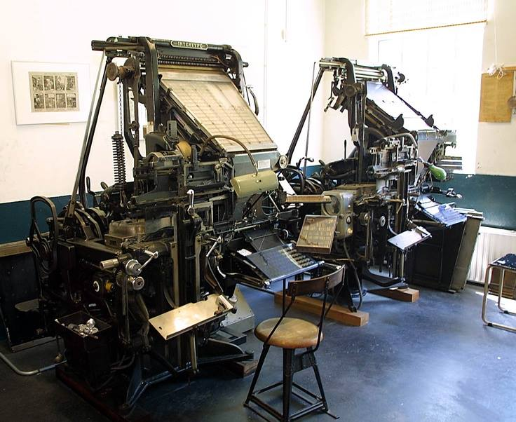 THE FIRST AFRIKAANS NEWS PAPER IN SOUTH AFRICA WAS PRINTED UP THE ROAD on this machine